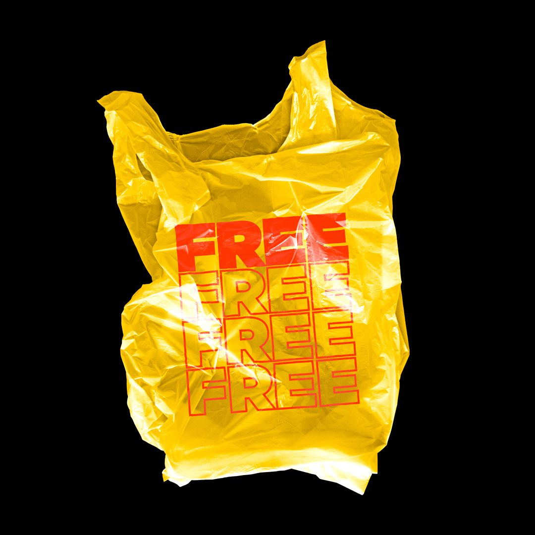 Download Plastic Bag Mockup Tuomodesign Bag Mockup Graphic Design Mockup Texture Graphic Design