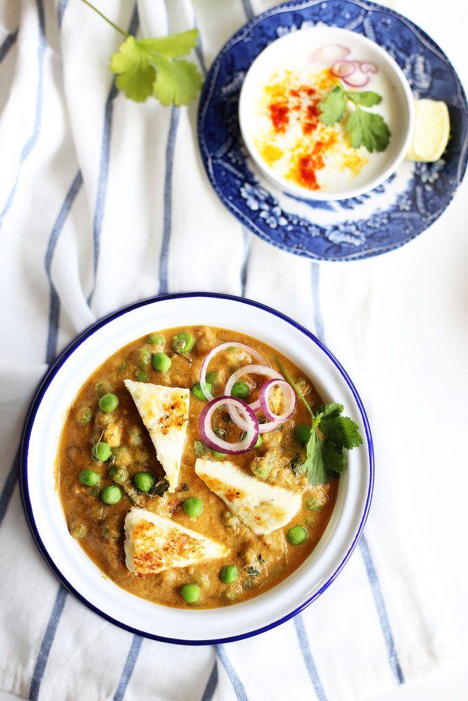 recipe: aloo matar paneer (simmered potatoes with peas and paneer) [38]