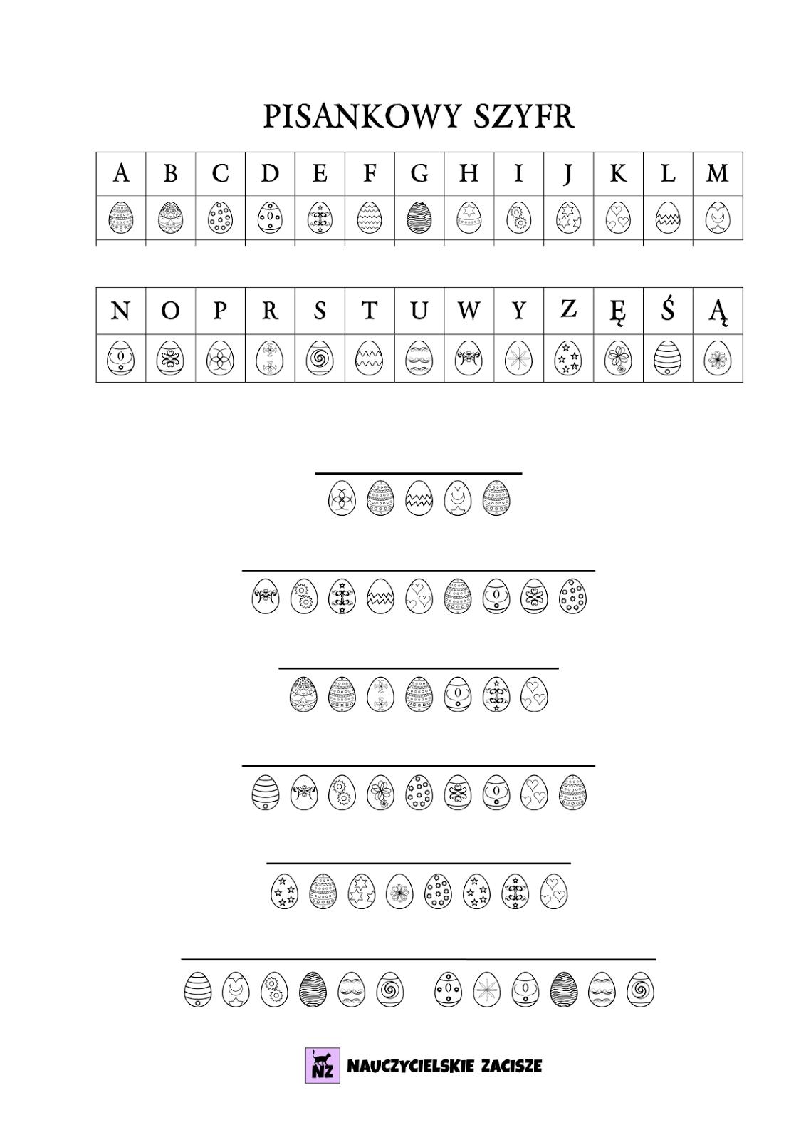 Wielkanoc Pomoce Dydaktyczne Do Druku Polish Language Coding For Kids Kids Education