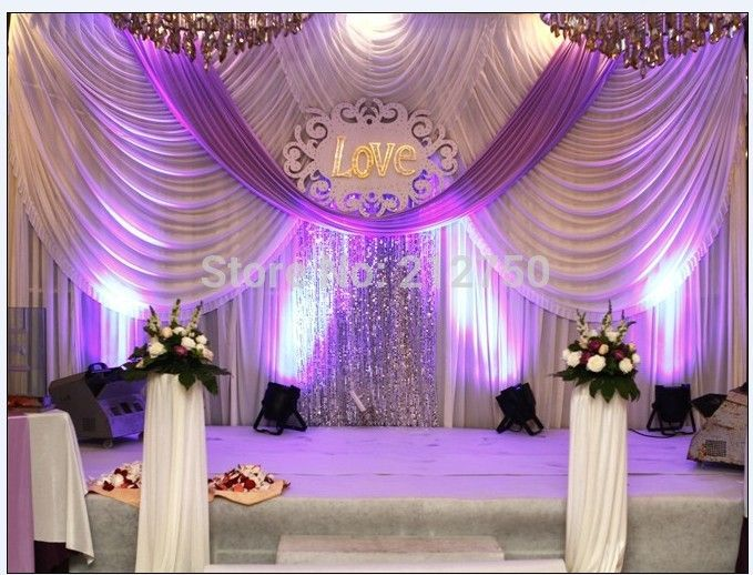 Luxurious White Purple Marriage Decoration Wedding Backdrop 19 Best Free Home Design Idea Inspiration