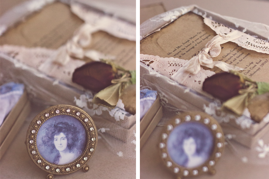 1920's inspired vintage wedding invitations