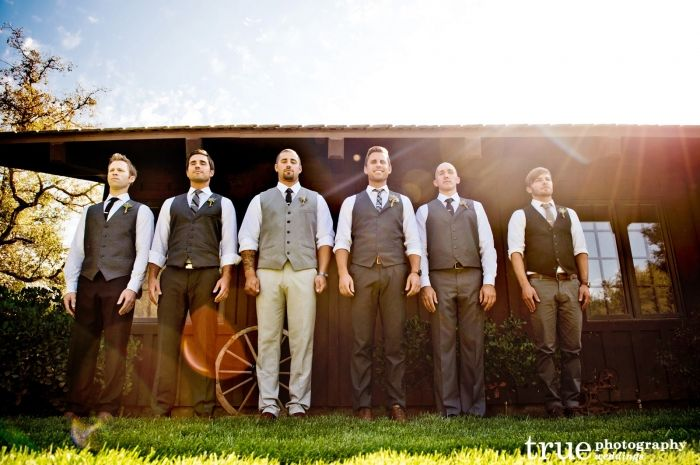 mens country chic wedding attire | Ideas For Country Wedding Grooms ...