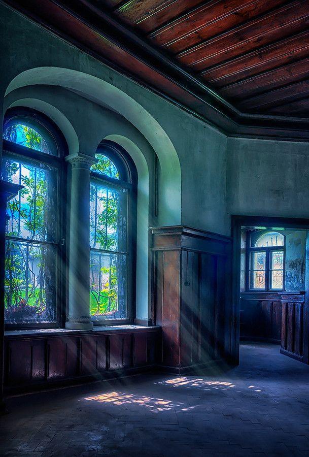 Arched Windows, Poland photo via evelyn