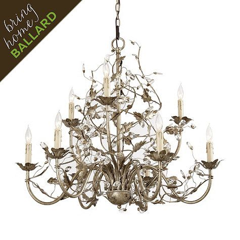 Currey And Company Crystal Bud Chandelier Currey Company