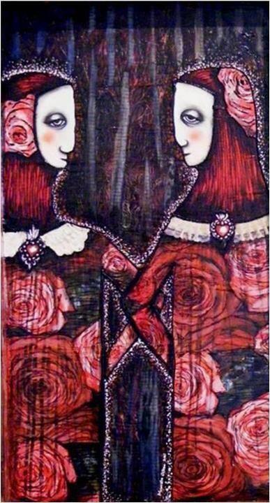 Marcela Ochoa. Pintora mexicana