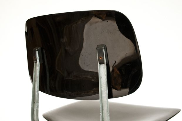 friso kramer for ahrend de cirkel revolt chair 1954 galvanised metal