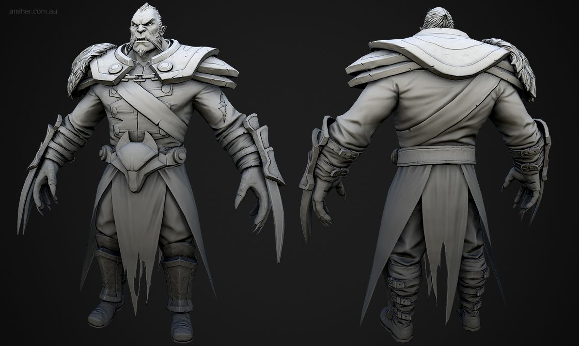 dota 2 lycan page 2 polycount forum inspiration 3d
