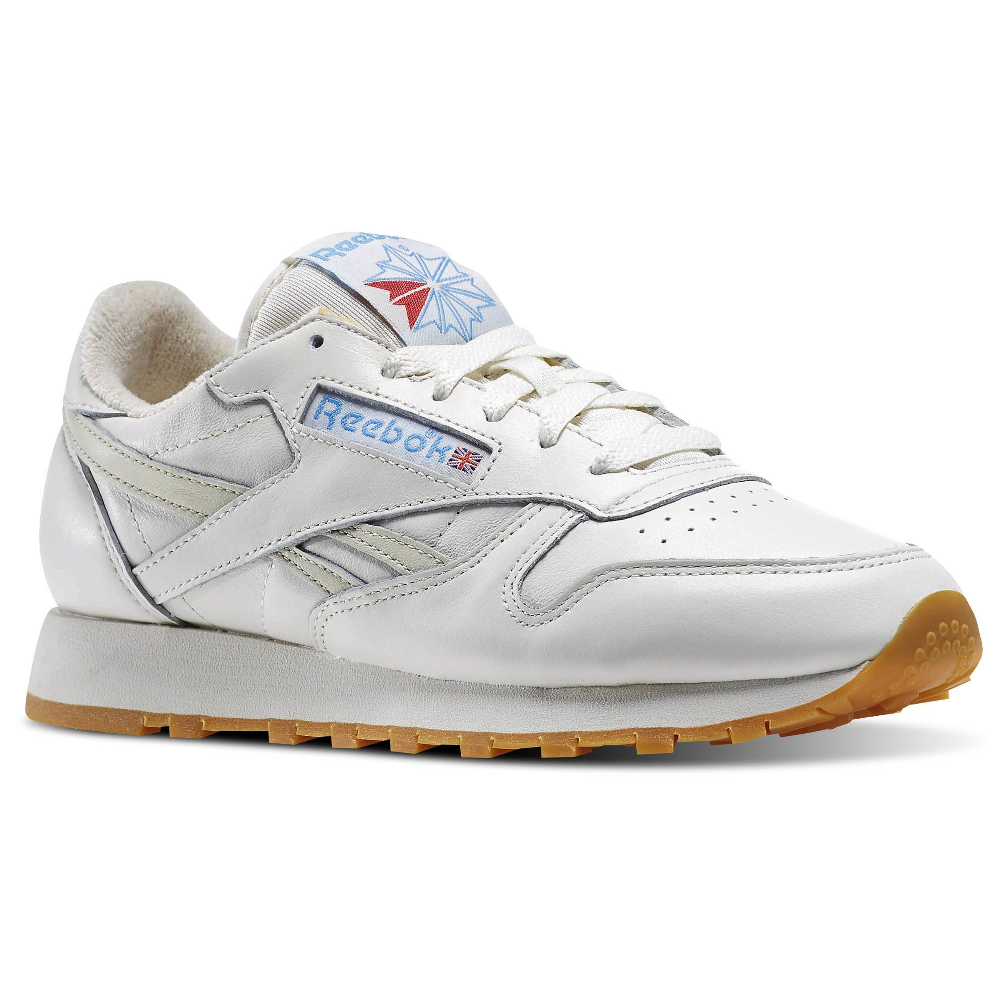reebok white and red running shoes