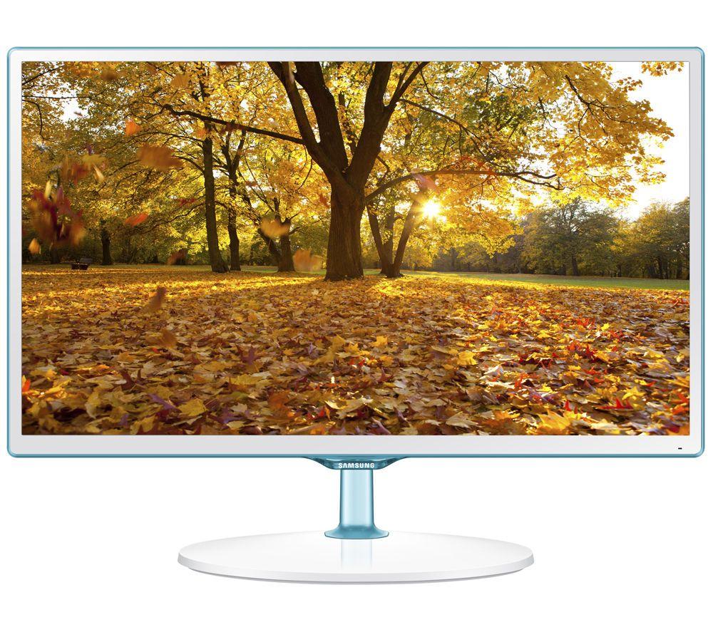 T24d391 24 Led Tv White Full Hd Tvs Hd Tvs And Tvs # Table Pour Tv Lcd En Bois