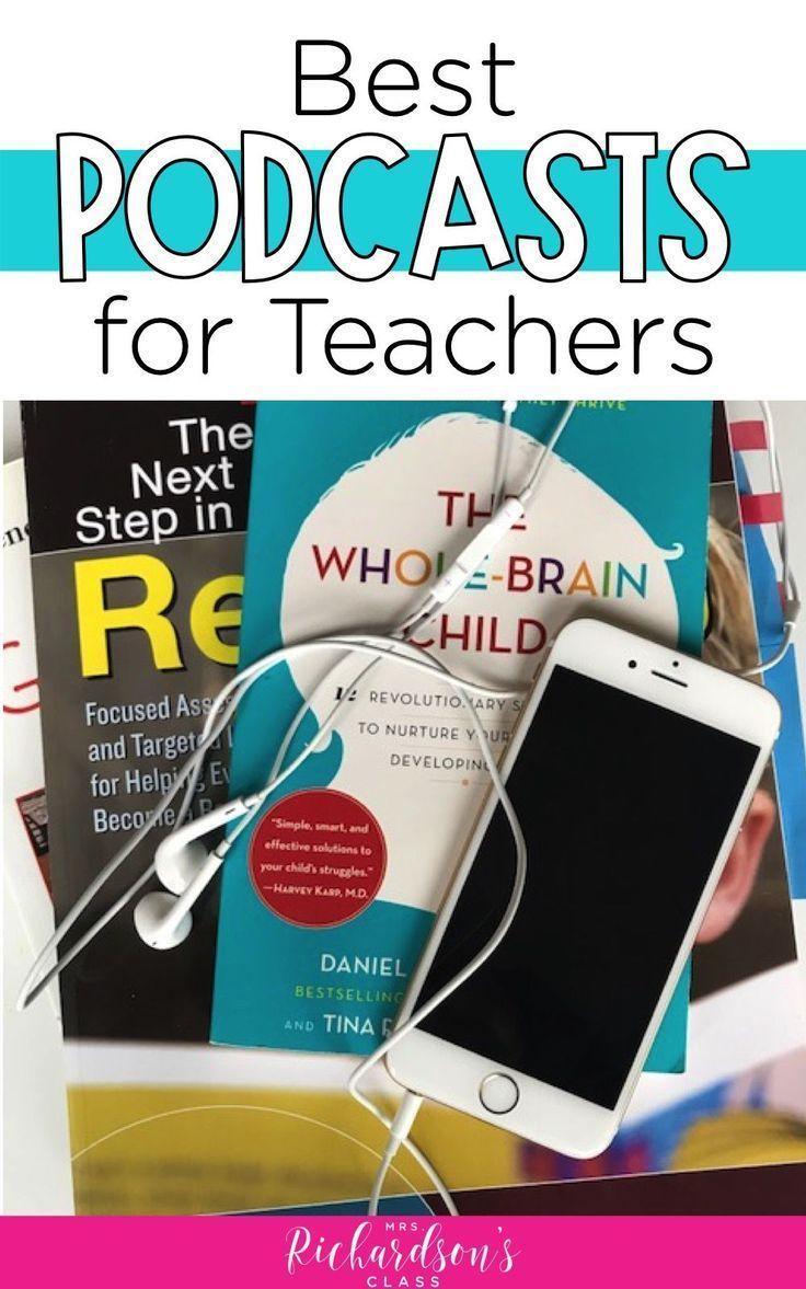 Best New Podcasts 2020 Best Podcasts for Teachers   2019 2020   Teacher blogs, Teacher