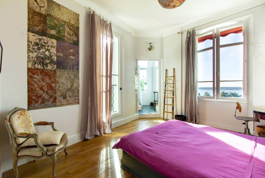 Appartement in Cannes, Frankrijk Charmante chambre de 20 m2 dans un - Hotel Avec Jacuzzi Dans La Chambre