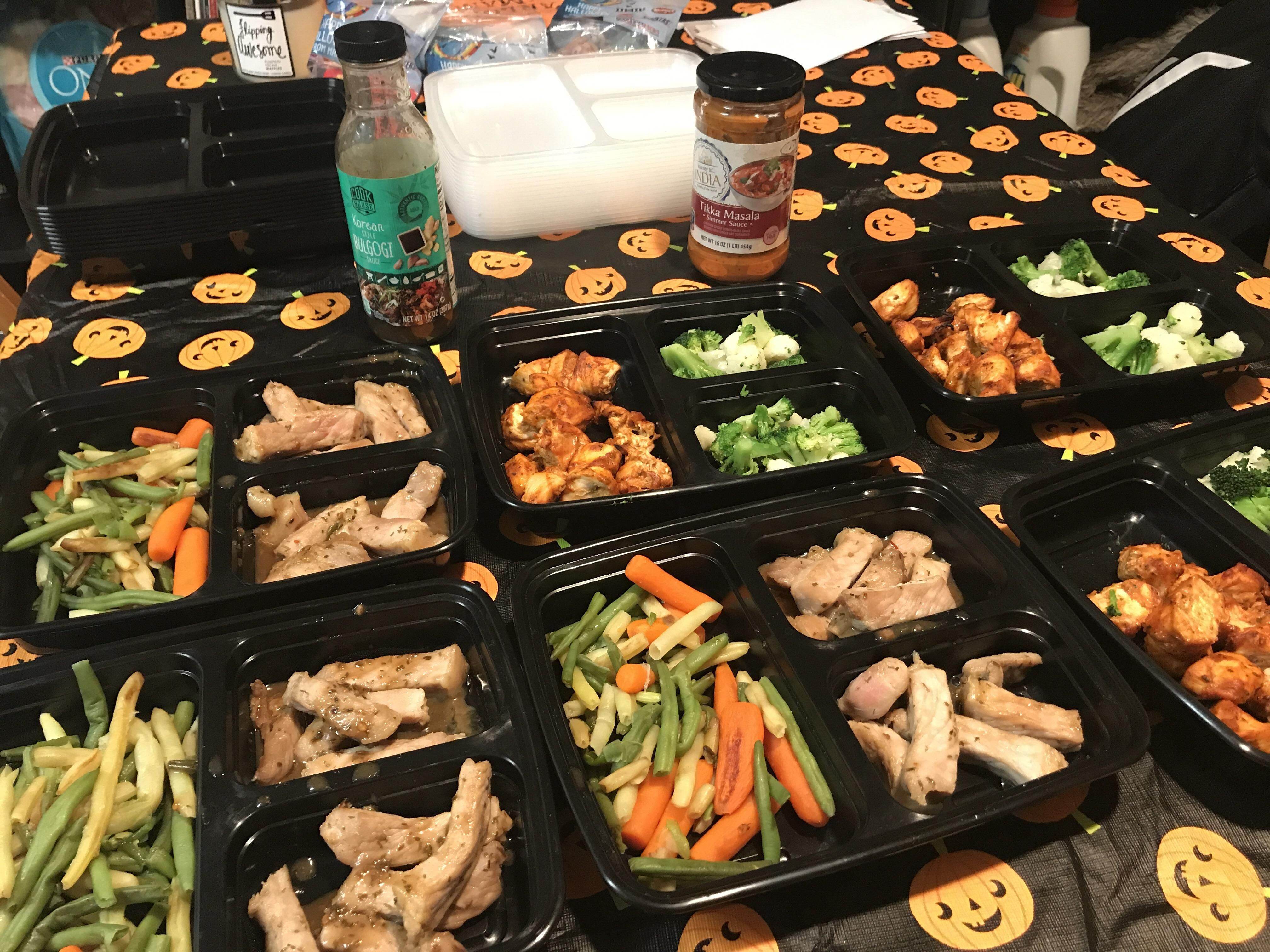 $26 for 6 lunches of pork bulgogi and chicken tikka masala ...