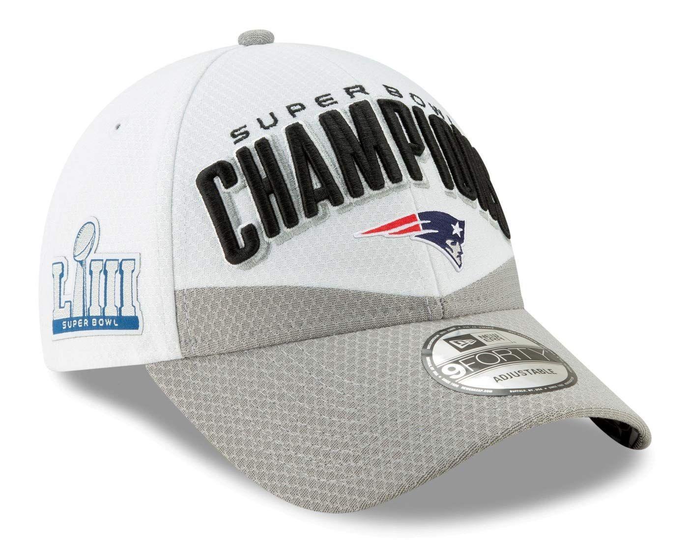 3eec555d New Era New England Patriots Super Bowl Llll Champions Locker Room ...