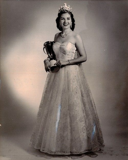 Miss Tennessee 1951 Jean Harper Drumwright Miss Shelby County