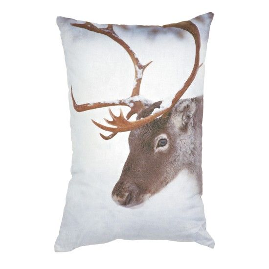 Reindeer print cushion from Marks & Spencer