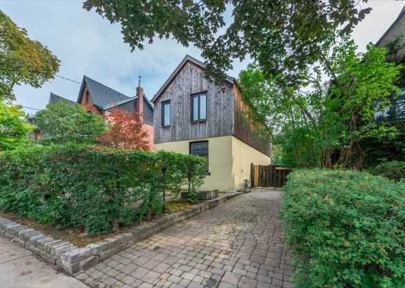 27 Alcina Avenue is a two-bedroom country cottage currently listed for $1,600,000. It's not your average detached house in the prime Wychwood neighbourhood near St. Clair West, looking a little more rustic than the typical urban dwelling you'd expect in this area. The first time on the market in 50...