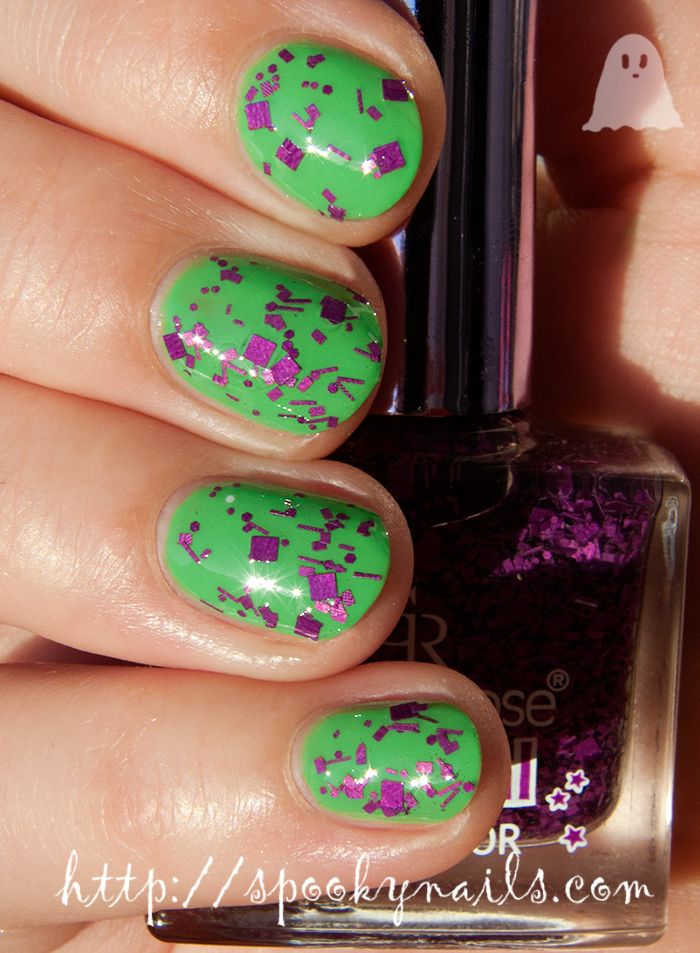 Golden Rose Carnival #08 on Q by Colour Alike 161 | My nails | Pinterest