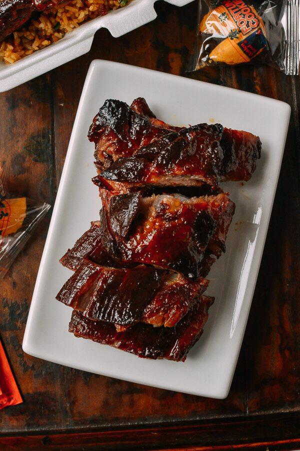 Chinese Rib Tips Fall Apart Tender Takeout Style The Woks Of Life Recipe Rib Tips Chinese Ribs Recipes