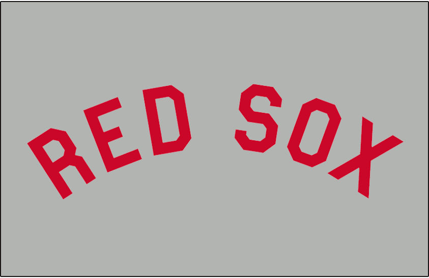 boston red sox jersey logo 1912 red sox in red arched in block rh pinterest co uk boston red sox logo font Happy Birthday Red Sox Font