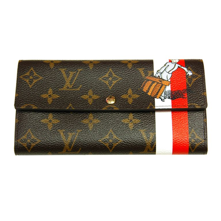 6514f7221897 LOUIS VUITTON Monogram Groom Wallet With Stripes | Bags | Louis ...
