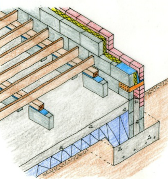 To Ensure That The Floor Is Thermally Insulated Either Rigid Or Blanket Insulation Is Placed Between The Floor Joists The Qui Timber Flooring Flooring Timber