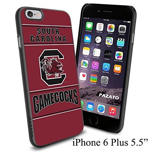 "NCAA C SOUTH CAROLINA GAMECOCKS , Cool iPhone 6 Plus (6+ , 5.5"") Smartphone Case Cover Collector iphone TPU Rubber Case Black Phoneaholic http://www.amazon.com/dp/B00VVLUNC2/ref=cm_sw_r_pi_dp_ckCnvb032W5VF"