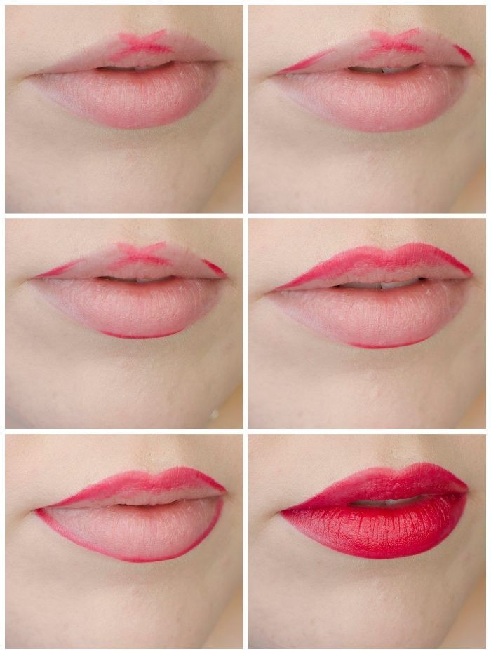 Photo of make up properly, perfect lips, bright pink lipstick, pictures, anl … – Painte…