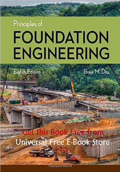 Principles Of Foundation Engineering 8th Edition PDF EBook Free Download Edited By Braja M