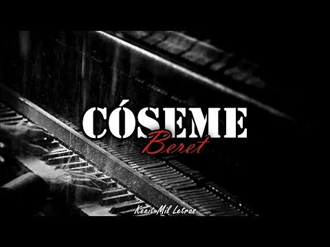 Beret Cóseme Letra Youtube Musica Reggaeton Coseme Letra Canciones