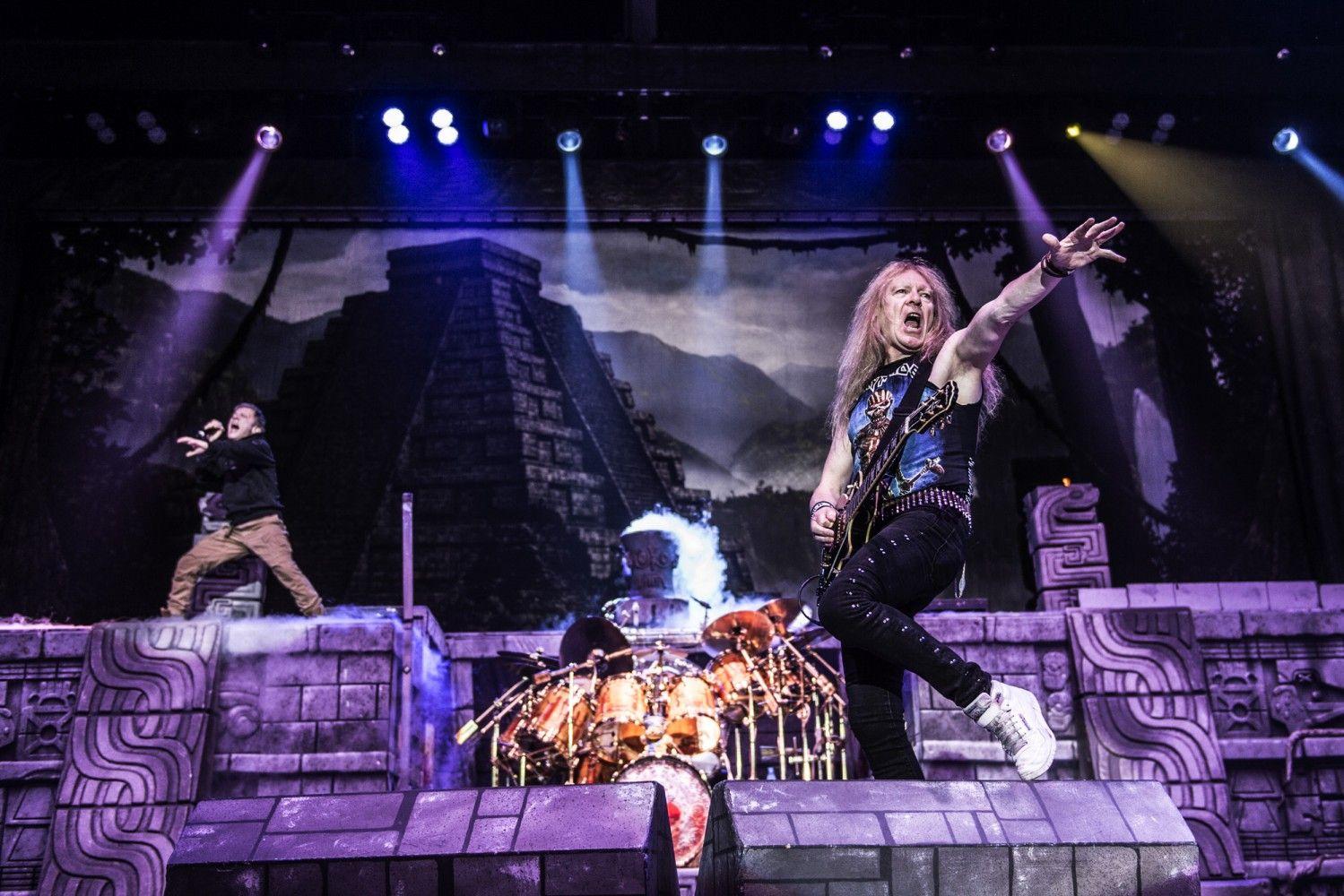 Iron Maiden in Herning,Denmark,21 July 2016