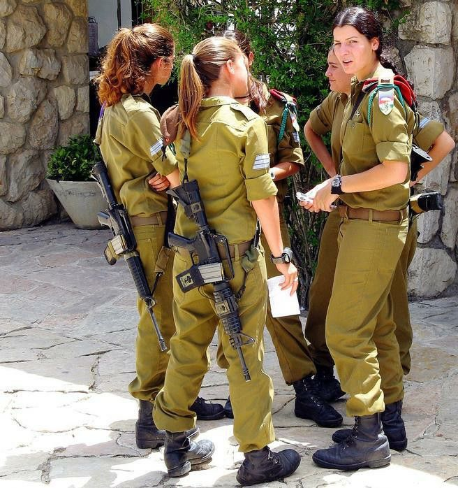 Israeli female soldiers off duty | IDF = Zahal | Pinterest ...