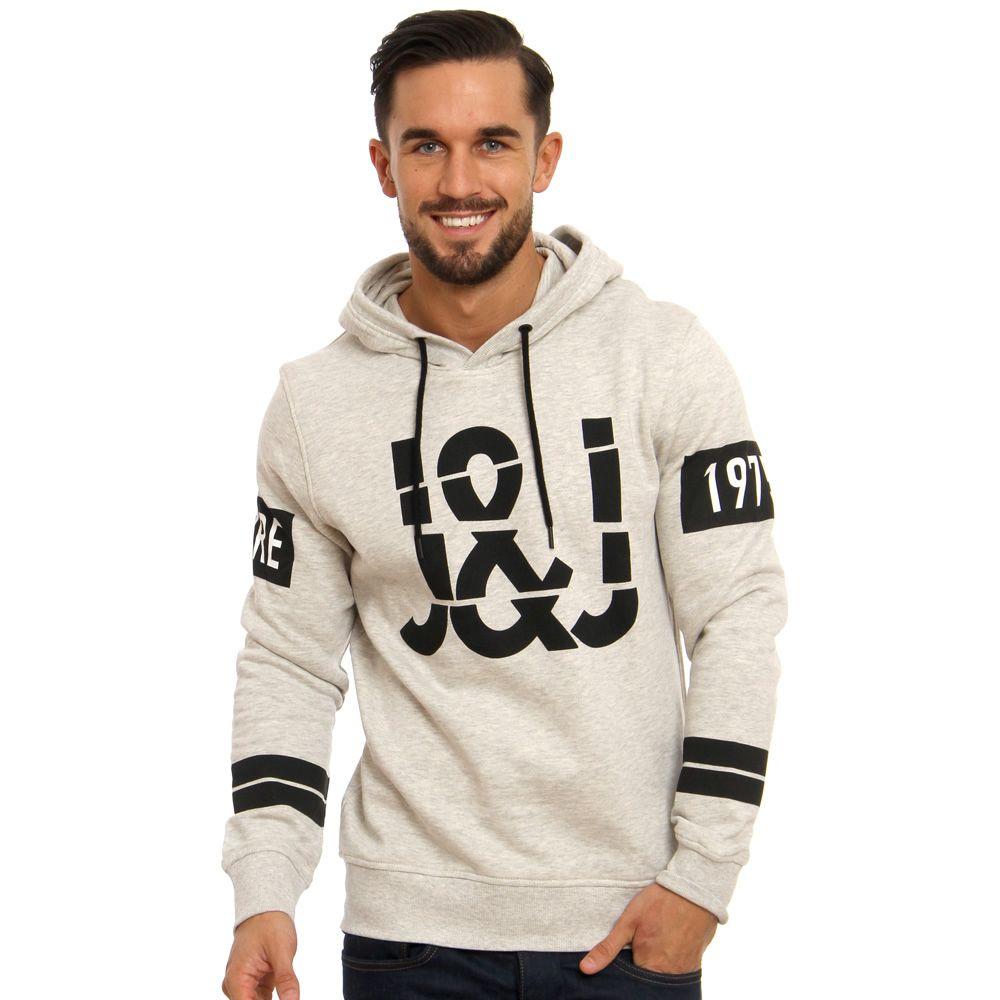 Jack Jones Core Theo Hoodie Tee Shirt Fashion Mens Outfits Sweatshirts [ 1000 x 1000 Pixel ]