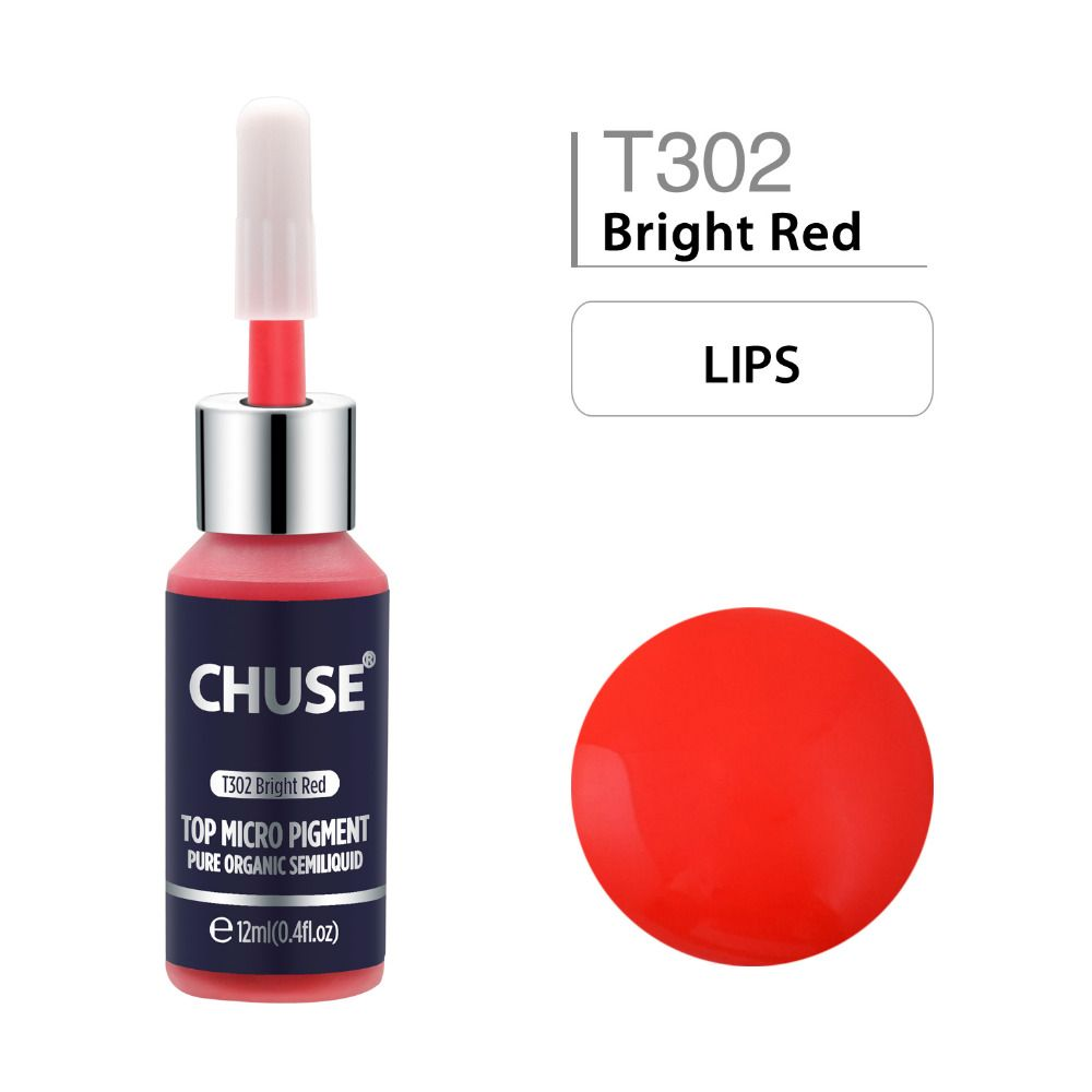 #bright #red #t302 #permanent #makeup #ink #eyeliner #tattoo #set #eyebrow #microblading #pigment #professional #12ml #0.4oz #beauty #health