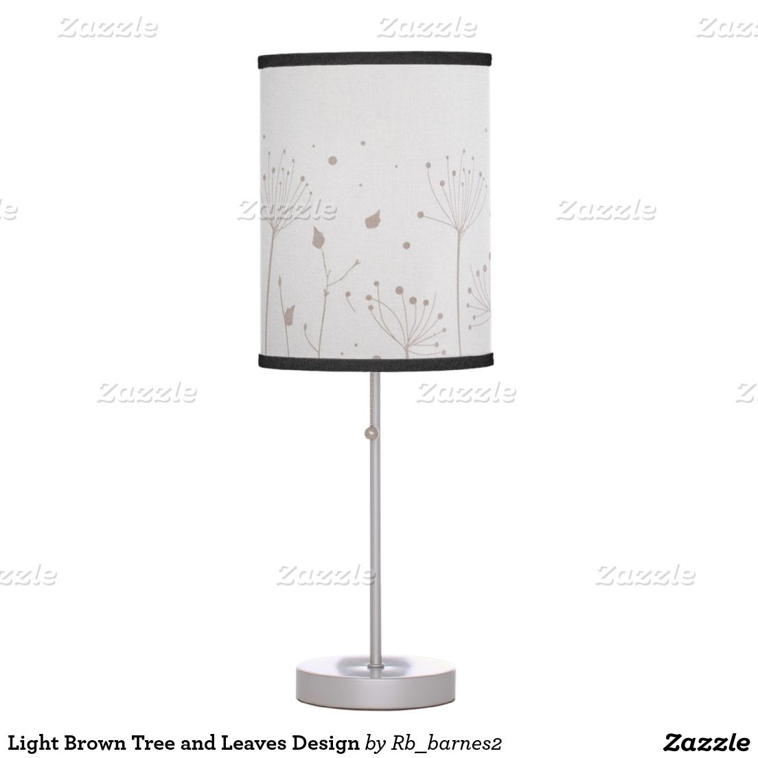 Light Brown Tree and Leaves Design Desk Lamps