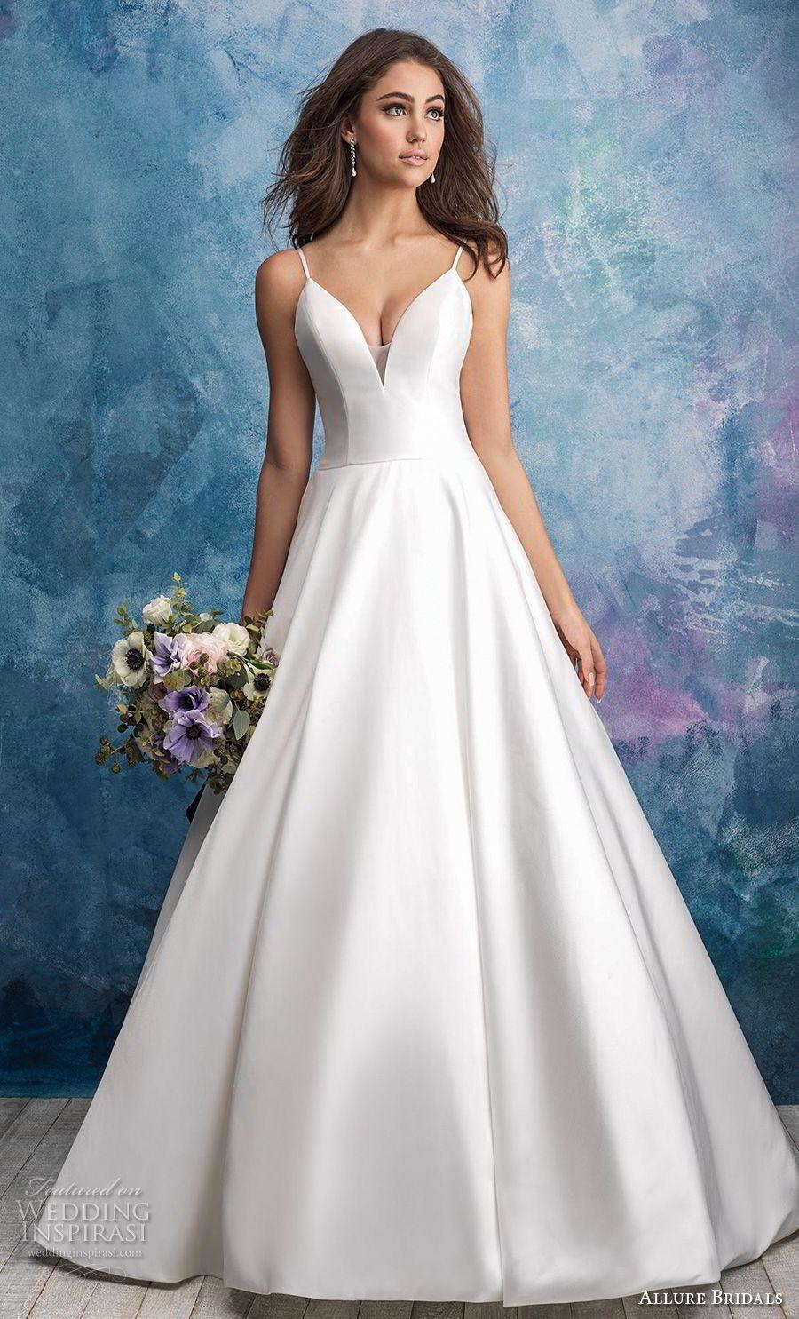Allure Bridals Fall 2018 Wedding Dresses Wedding Inspirasi Allure Bridal Wedding Dress Allure Wedding Dresses Allure Bridal [ 1485 x 900 Pixel ]
