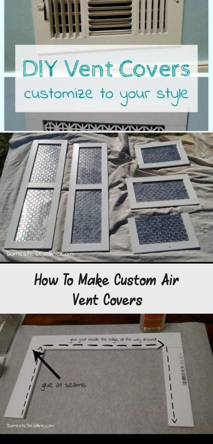 How To Make Custom Air Vent Covers Pinokyo in 2020 Air
