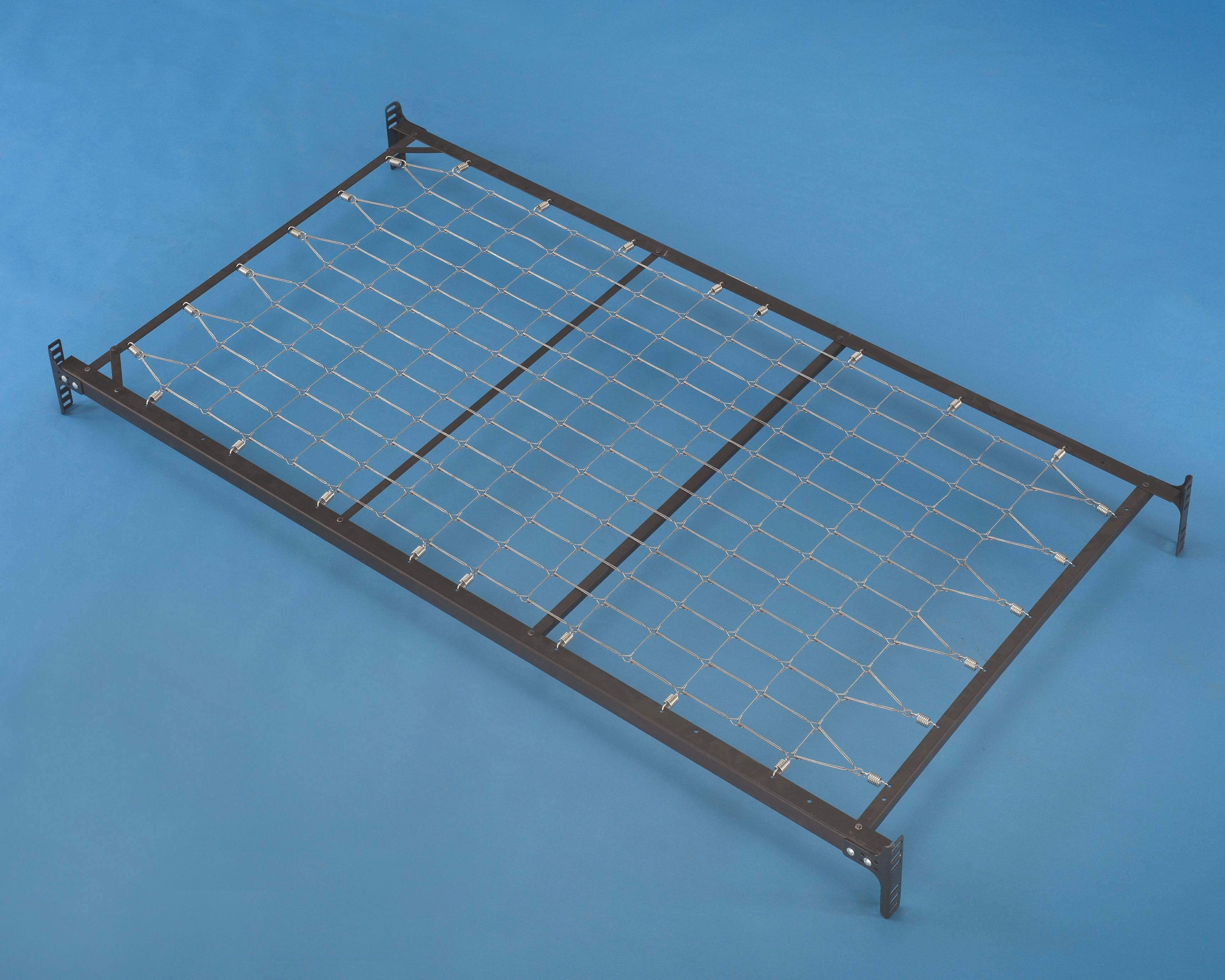 Frames and Rails Twin Metal Day Bed Foundation, Metallic