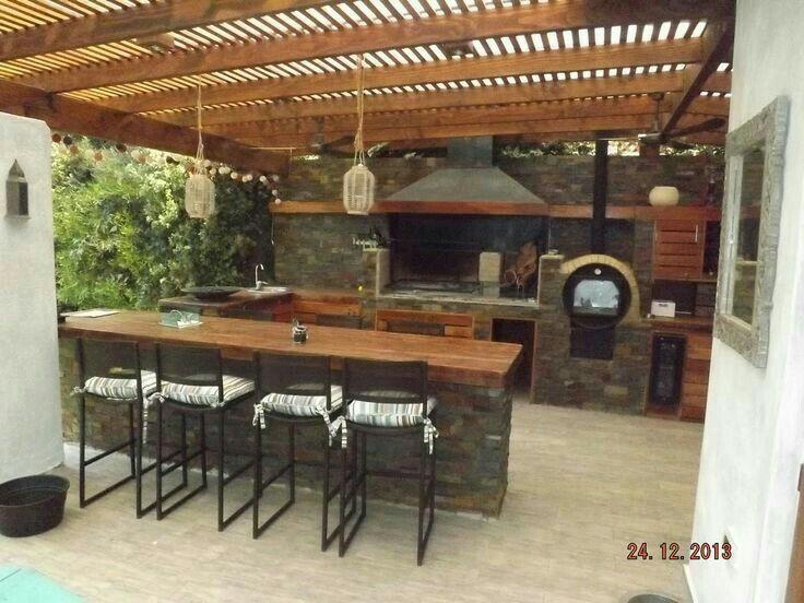 Terraza Con Pergola Quinchos Quincho Y Terrazas Y Diseño