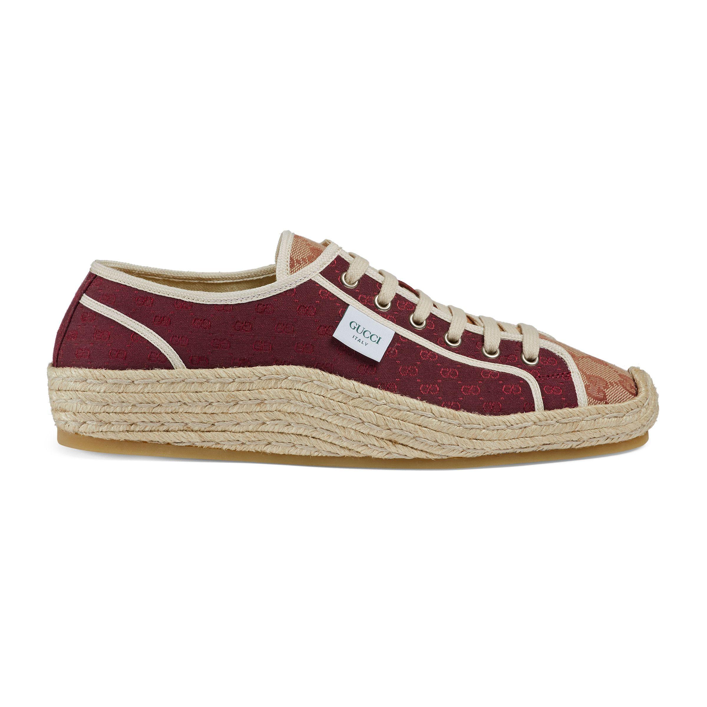 Gucci fashion, Gucci, Espadrille sneakers