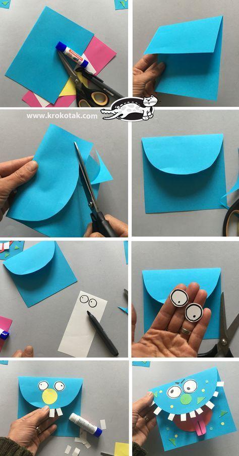 Monsters Kinderbasteleien Pinterest Crafts Crafts For Kids