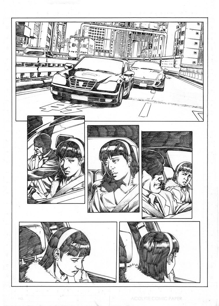 Marvel Test Page  Bw By Admirawijaya  Sequential Art Comic Page