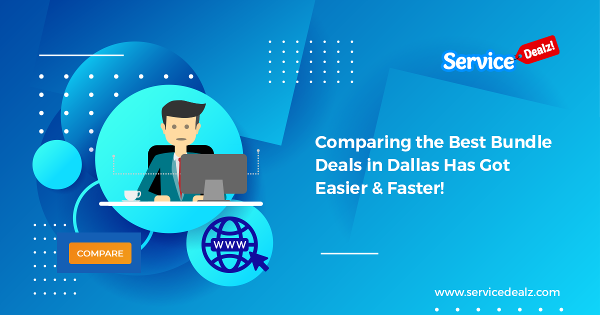 Comparing The Best Bundle Deals In Dallas Has Got Easier Faster Best Cable Tv Internet Deals Tv Deals