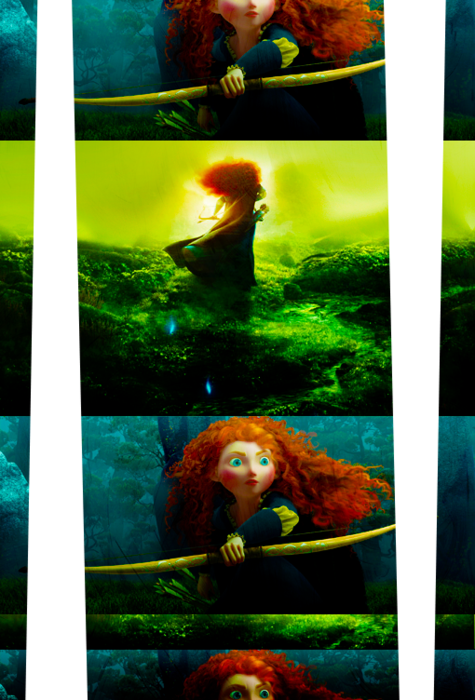 Brave by Pixar. This just looks way too good. Hello, beautiful red head!
