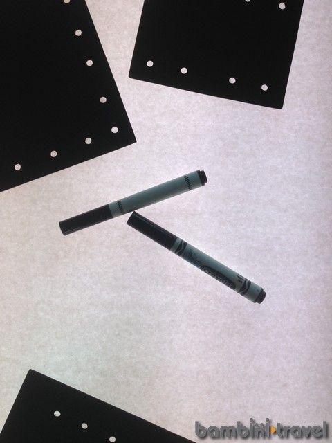 Reggio-Inspired exploration of Black/White on the light table | Bambini Travel