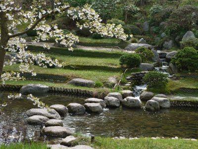 Le jardin japonais du Musée d\u0027Albert Kahn à Boulogne-Billancourt - wasserfall selber bauen