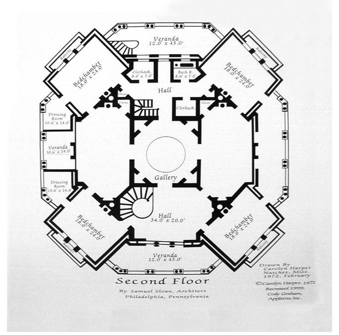 The Lost Dreams Ghosts Of Longwood Plantation Mansion Floor Planshouse