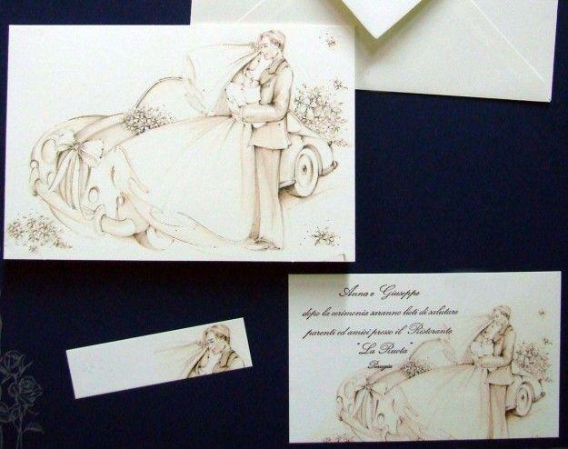 Souvent partecipazioni matrimonio fai da te | Galleria di immagini e foto  MK15
