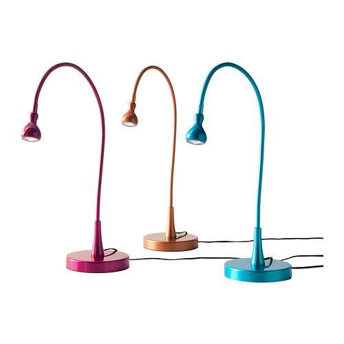 Ikea Candeeiros ~ IKEA JANSJÖ, Candeeiro LED de secretária, Braço e cabeça reguláveis para um fácil
