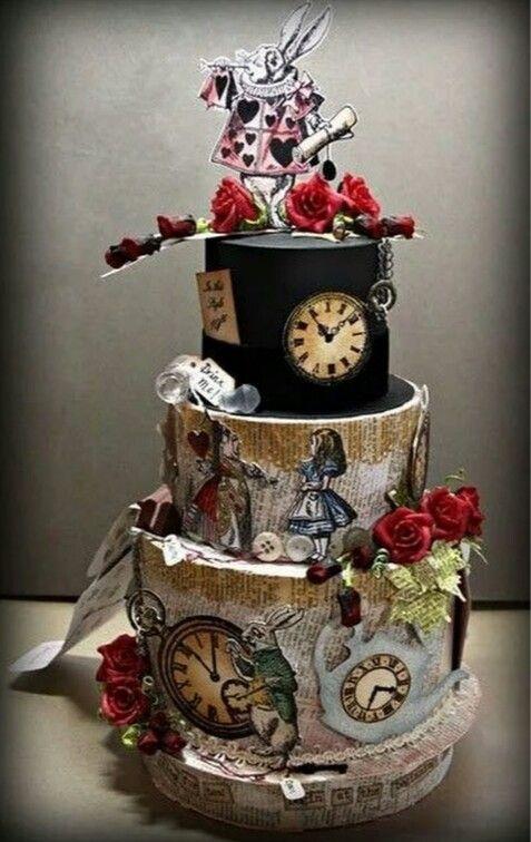 Pin by Ирина Левченко on Кулинория | Pinterest | Cake, Alice in ...