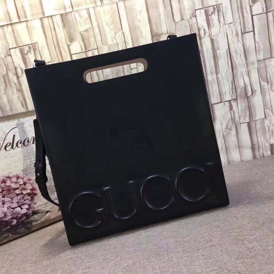 a84aafabac6d03 Replica GUCCI XL leather tote Shopping bag 409378 ID:35465 ...